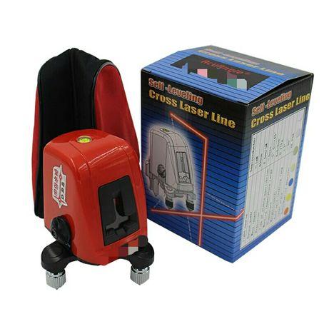 Nivela laser roșu 2 linii și punct autonivelare