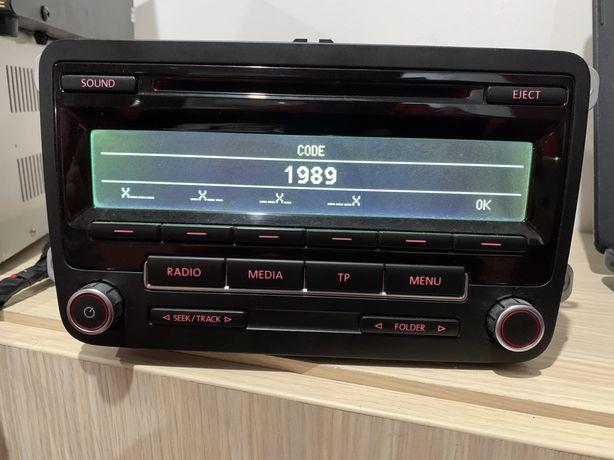 Radio CD/MP3/AUX, Bluetouth RCD 310 Volkswagen Tiguan, Touran, Golf 5