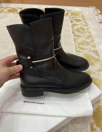 Кожаные ботинки Balenciaga (оригинал)