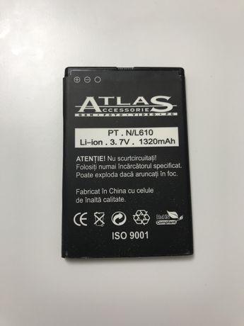 Acumulator Nokia BP-3L, Lumia 505, 510, 610, 710, Asha 303