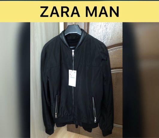 Куртка бомбер ветровка Zara Man