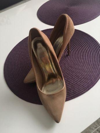 Pantofi de ocazie /Culoare:Auriu,Negru