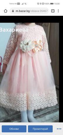Детска рокля 3-4