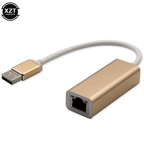 Переходник USB на LAN для MacBook. Фирменный. Алматы.