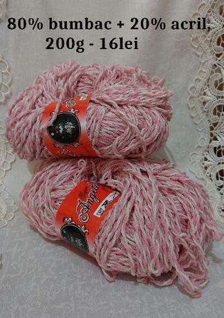 Fire de tricotat / crosetat BUMBAC