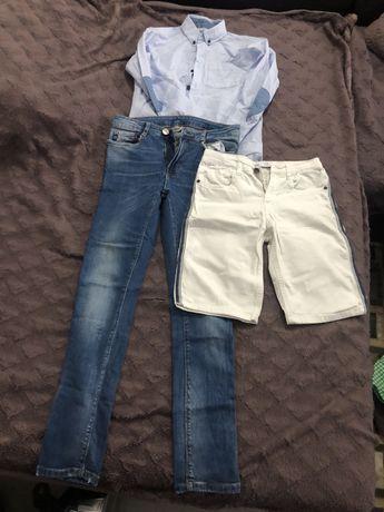 Blugi bermude camasa Zara