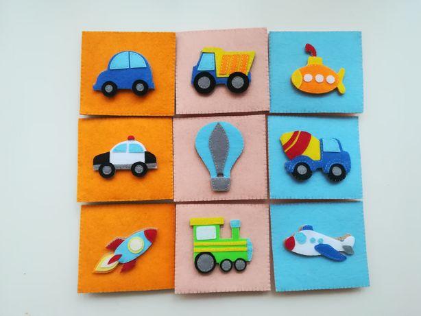 Puzzle din fetru Mijloace de transport