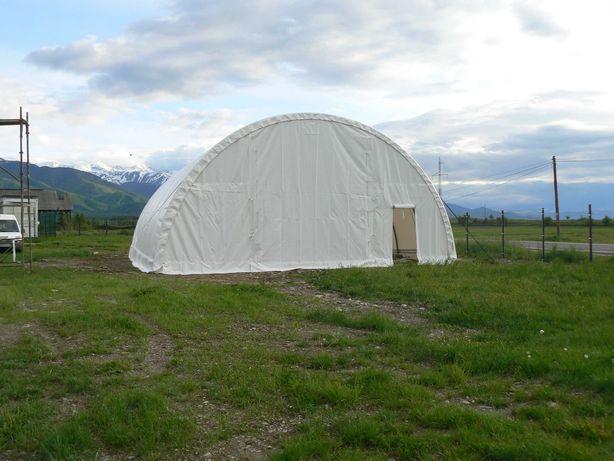 CORTURI HALE SEMIROTUNDE cu calcul structural  720g/m² PVC IGNIFUG