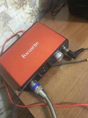 Продам домашнюю студию звукозаписи.