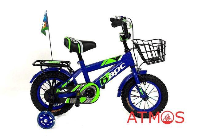 Детский велосипед Барс 12 | Год гарантии | Цвет: синий