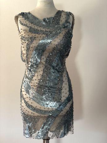 Rochie cu spatele gol. Material Shiral.
