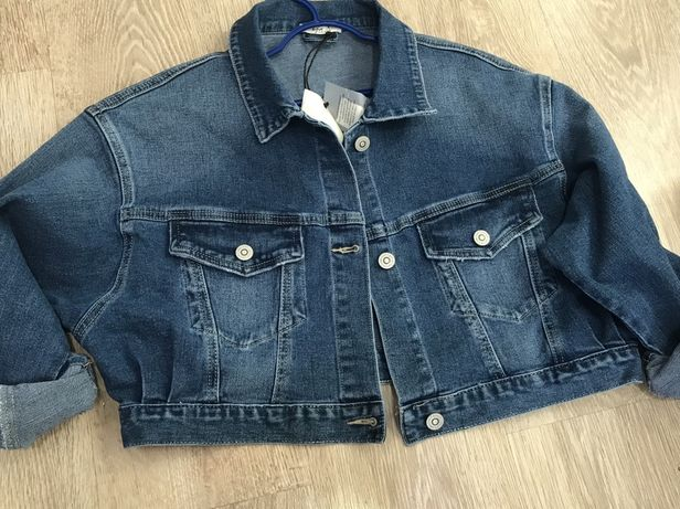 Джонсовая куртка производство Италия