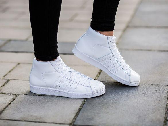 ОРИГИНАЛНИ *** Adidas Originals Pro Model White Metal *** УНИКАЛНИ