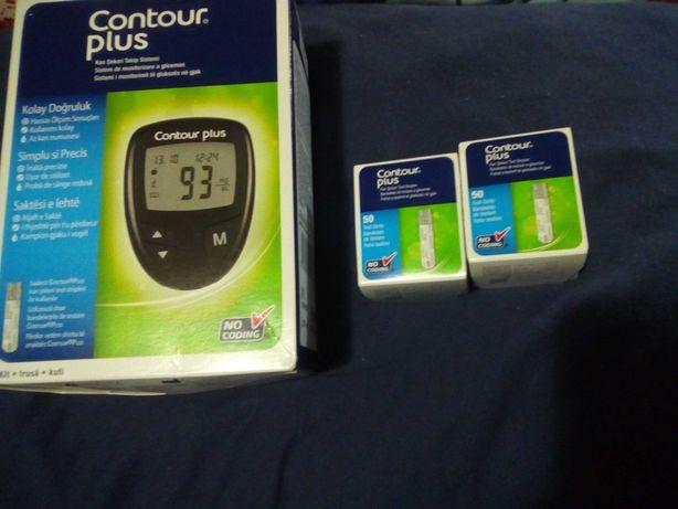 Glucometru(aparat măsurat glicemia).