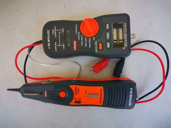 Многофункционален тестер и проследяващ кабелен уред