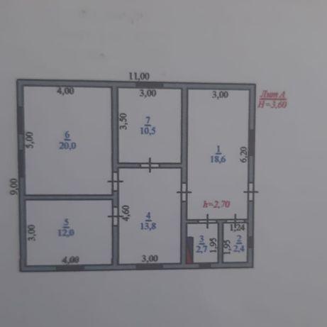 Продам уютный 5-комнатный дом