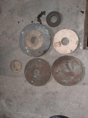 Различни камъни за шмергелене