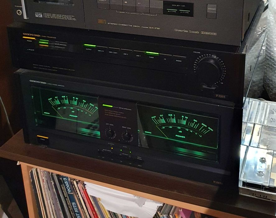 Onkyo M-5590 & P-3390 power si preu. Sistem superb HI-FI Bucuresti - imagine 1