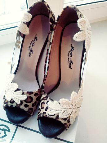 Турецкие туфли из натурального материала