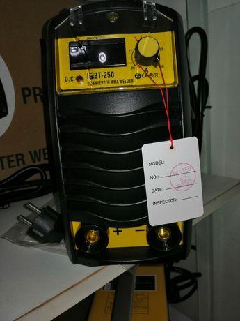 Инверторен Електрожен MMA 250 F1 Серия Yellow С Пълна Окомплектовка