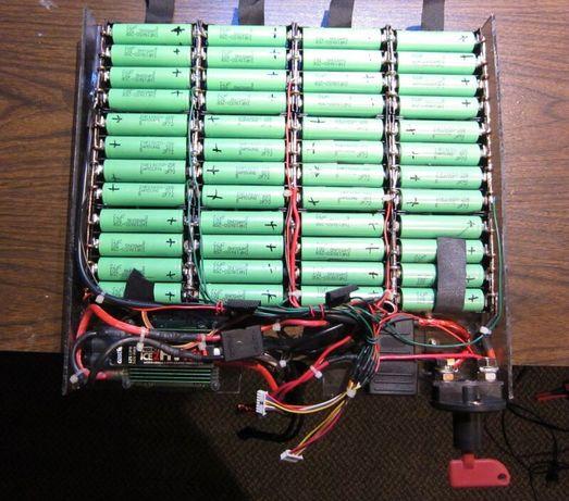 Литиево йонни батерии за ел.велосипеди скутери тротинетки и други