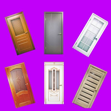 Межкомнатные двери. Деревянные двери. Ағаш есік. Добор. Наличник.Ручки