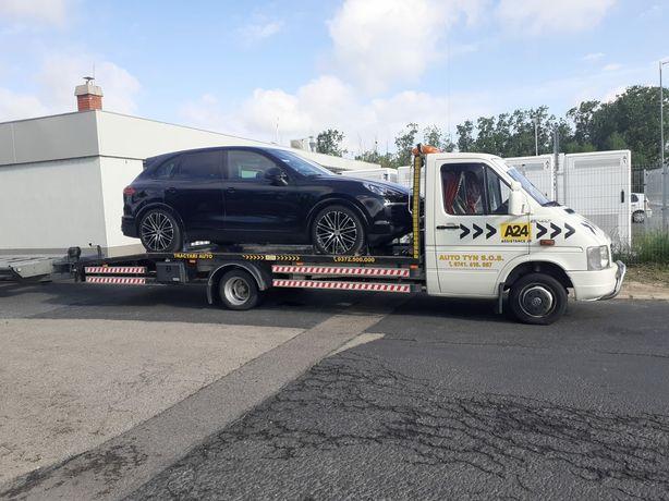 Tractari auto 24/24 transport utilaje Suceava