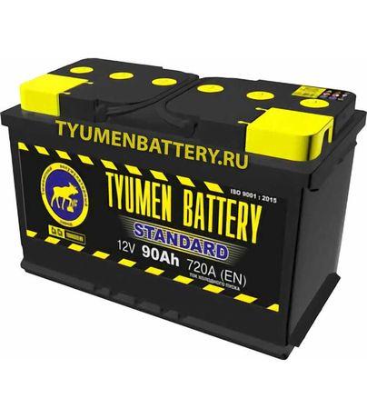 Аккумулятор Тюмень STANDARD 90 А/ч