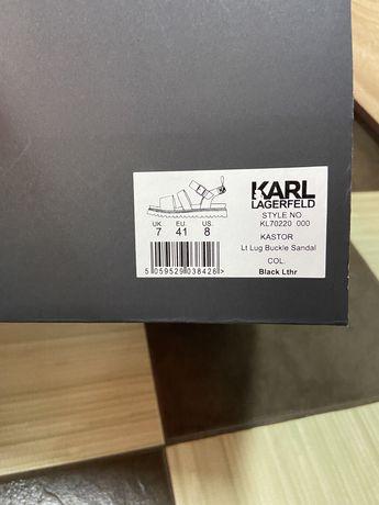 Sandale barbati Karl Lagerfelg Originale