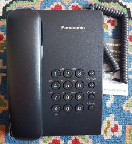 Нов Телефонен апарат Panasonic KX-TS500FX, черен