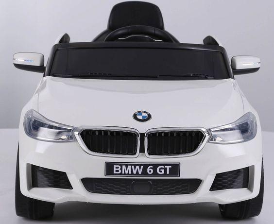 Masinuta electrica Bmw Seria 6 GT 60W 12V STANDARD #Alb