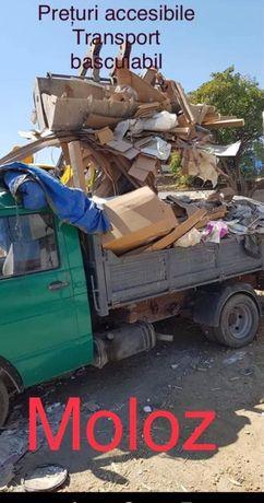 transport moloz pietris debarasez case apartamente beciuri