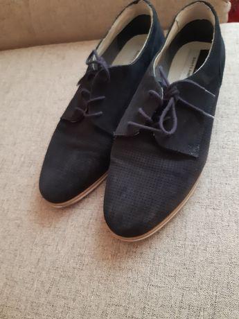 Pantofi de piele intoarsa