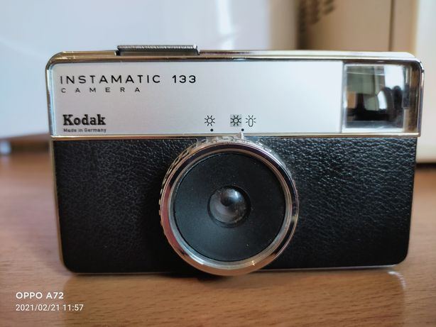 Kodak Instamatic Camera 133
