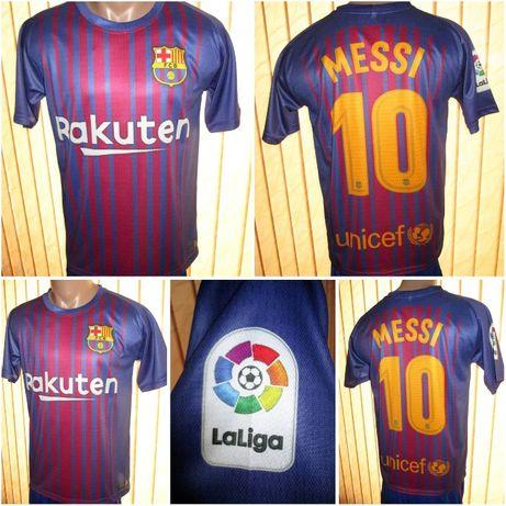 Мъжка тениска Барселона 2018 Меси 10 - високо качествена сублимация