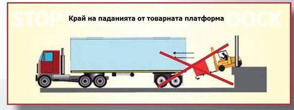 Система за автоматично застопоряване на тир камиони