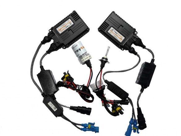 Ксенон система H7 за кола AC тип 35W - 300% светлина, малки баласти