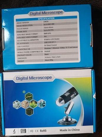 USB Микроскоп eTop USBM-003, с 1600х увеличение Андроид, Уиндоус