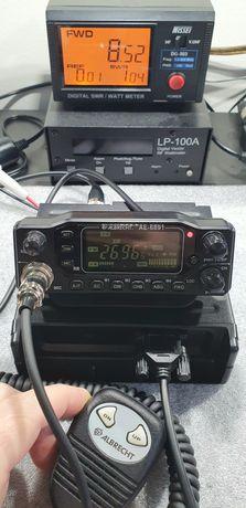 Statie radio CB - Albrecht AE6891 (8,5W+display detasabil)* produs Nou