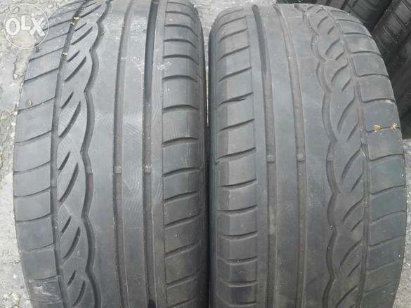 продавам 2бр летни гуми 215/55/16 марка Дънлоп дот2008г. 4.5мм грайфер