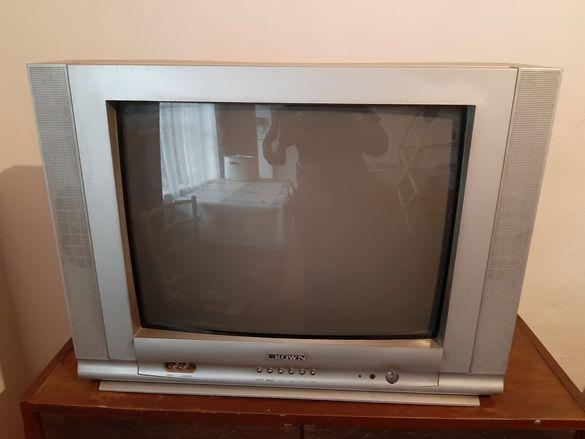 Телевизор Crown без дистанционо