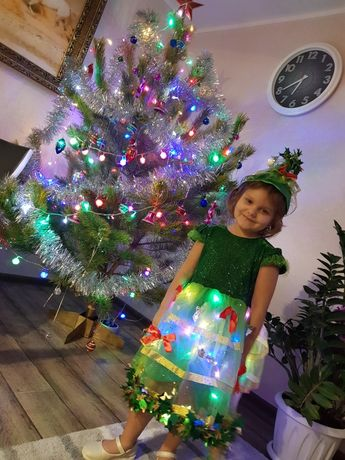 Костюм новогодний ёлочка