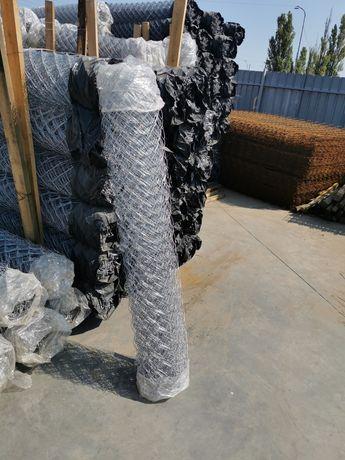 Plasa gard zincata impletita si sudata - 1.6mm, 1.8mm, 2mm