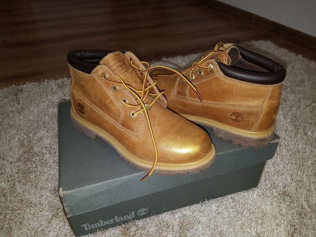 Bocanci Timberland Nellie Chukka Waterproof Gold Metallic Finish 39