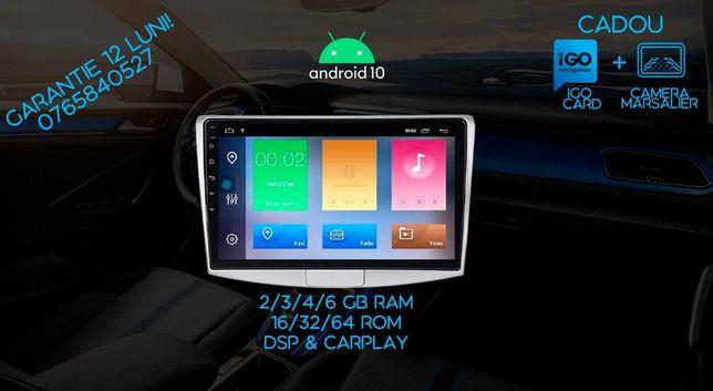 Navigație CARPAD 10.1 Android 10, VW b6,b7, CC, 4 GB IPS+DSP PREMIUM