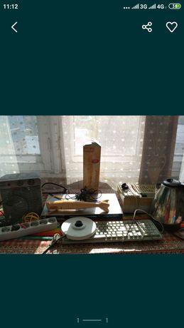 Вентилятор Обогреватель DVD чайник радио удлинитель блендер и другое