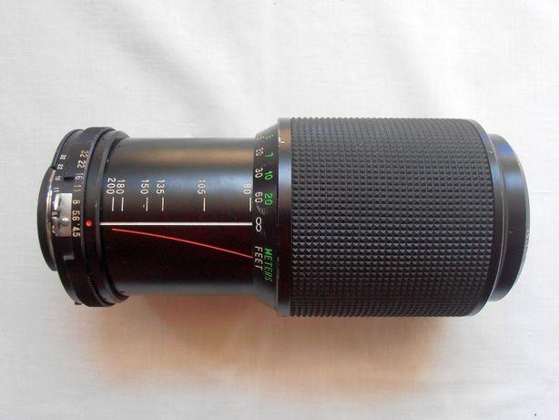Vivitar 80-200/4,5 baioneta Nikon