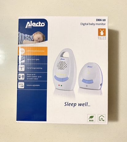 Monitor digital bebelusi - Baby Alecto DBX-10 - NOU