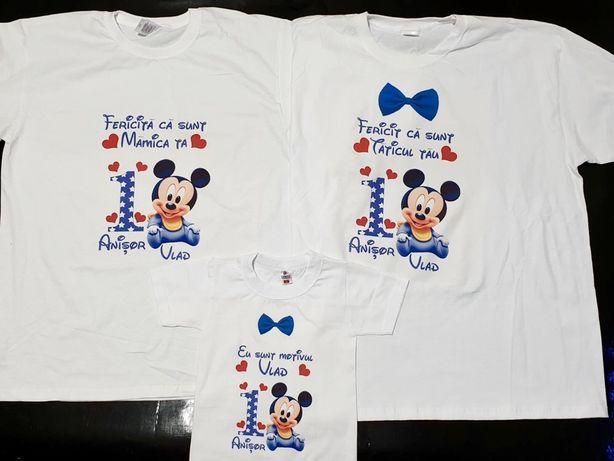 Set tricouri pentru aniversare /onomastica