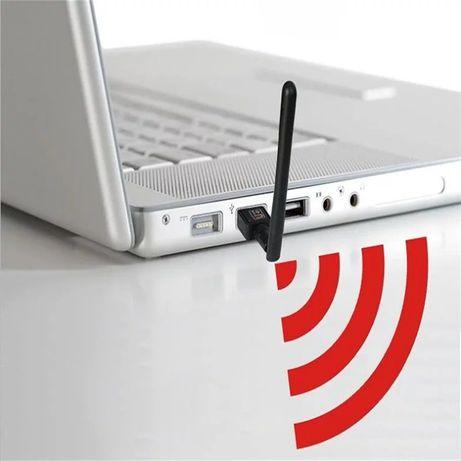 Wi fi адаптер антенна для ПК и теле приставки